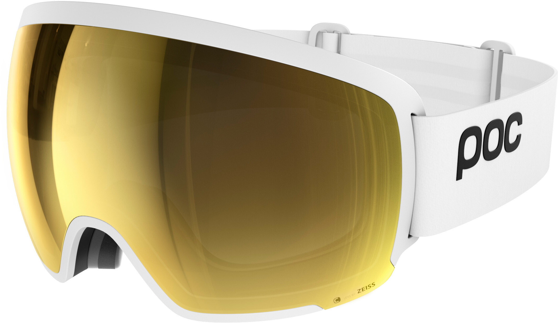 dcac73338b80 POC Orb Clarity Goggles hvid guld